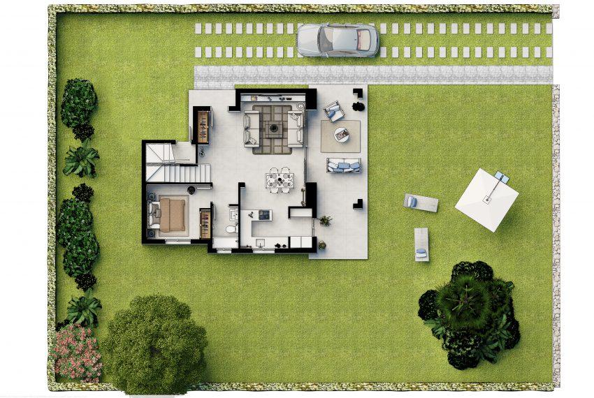 Plan2_Las Villas de Dalt de Sa Rapita_PLANTA BAJA