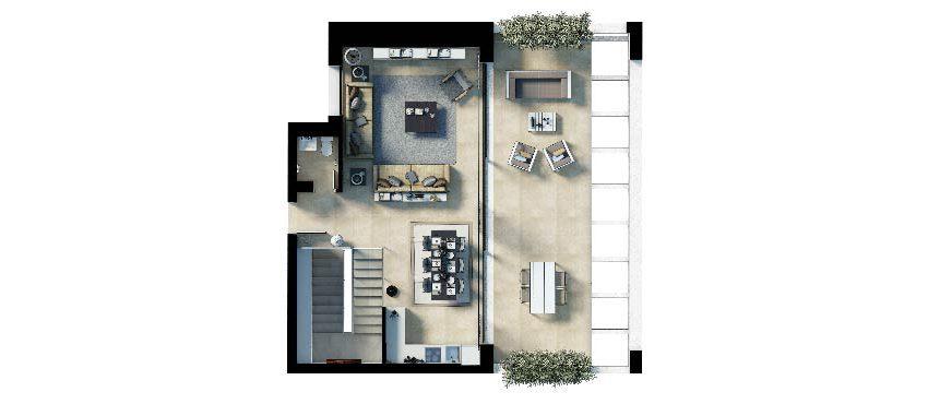Plan_2_First Floor_Cala Vinyes Hills