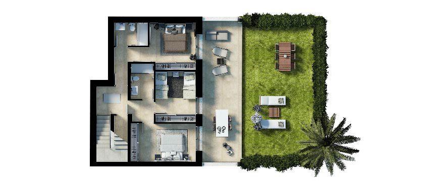 Plan_3_Ground Floor_Cala Vinyes Hills